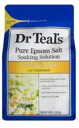 DR TEALS EPSOM SALTS CHAMOMILE (COMFORT & CALM)1.36KG