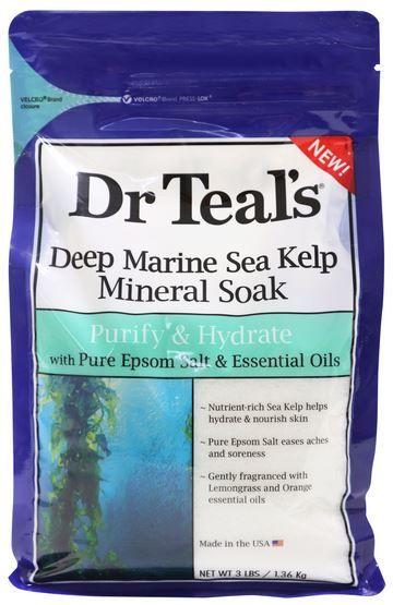 DR TEALS EPSOM/S MARINE SEA KELP 1.36KG