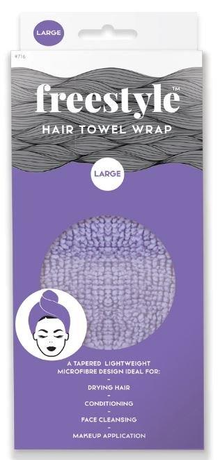FREESTYLE HAIR TOWEL WRAP LARGE