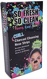 SO FRESH CHILL CHARCOAL NOSE STRIPS