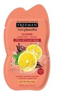 FREEMAN SWEET TEA & LEMON CLAY MASK 15ML