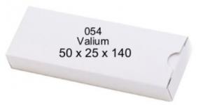CARDBOARD BOX (VALIUM) PK 50