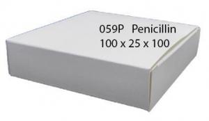 "CARDBOARD BOX ""PENICILLIN"" PACK 50"