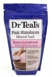 DR TEALS PINK HIMALYAN E/SALTS 450GM