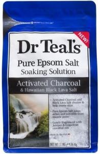 DR TEALS ACT.CHARCOAL EPSOM SALTS 1.36K