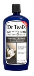 DR TEALS ACTIVE CHARCOAL FOAMING BATH 1LT