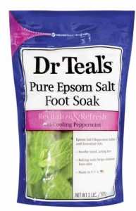 DR TEALS EPSOM SALT FOOT SOAK 909G