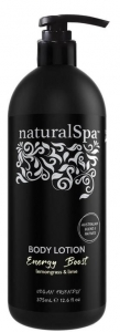 NATURAL SPA ENERGY BOOST BODY LOTION 375ML