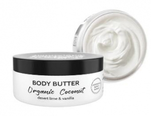 NATURAL SPA ORGANIC COCONUT BODY BUTTER 200G