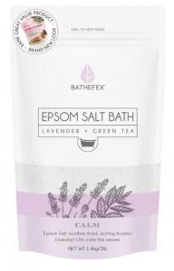 BATHEFEX EPSOM SALT LAV/GREEN TEA 1.4KG