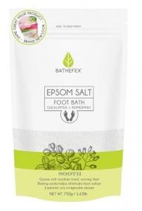 BATHEFEX FOOT BATH EPSOM SALT/EUCAL 750G