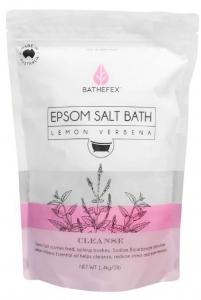 BATHEFEX EPSOM SALT BATH LEMON VERBENA 1.4KG