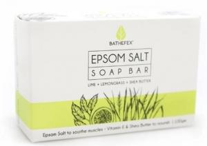 BATHEFEX SOAP LIME/LEMONGRASS 100G DISP16