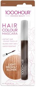 1000HR HAIR MASCARA LIGHT BROWN