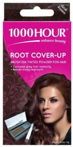1000HR ROOT COVER UP DARK BROWN+++