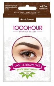 1000HR BRUSH IN DYE KIT-DARK  BROWN (GEL)