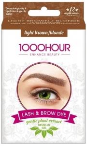 1000HR BRUSH IN DYE KIT- LIGHT BROWN/BLONDE (GEL)