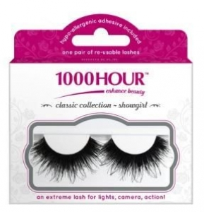 1000HR NATURAL LASHES SHOW GIRLS