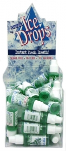 ICE DROPS - SPEARMINT 50PC DISPLAY