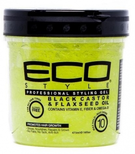 ECO STYLE CASTOR & FLAXSEED OIL STYLING GEL 473ML+++