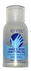 DISPEL HAND SANITISER 50ML DISPLAY 12