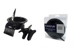 FREESTYLE TINT BOWL 2 CLIPS & TINT BRUSH