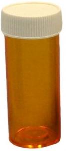 VIALS 8DR AMBER SCREW LID PACK 50