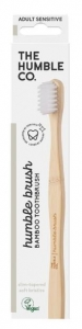 THE HUMBLE CO.BAMBOO TOOTHBRUSH ADULT WHITE SENSITIVE