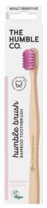 THE HUMBLE CO. BAMBOO TOOTHBRUSH ADULT PURPLE SENSITIVE