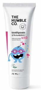 THE HUMBLE CO. NAT KIDS STRAWBERRY TOOTHPASTE 75ML