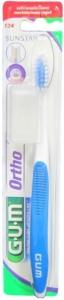 GUM ORTHODONTIC T/BRUSH WITH CAP