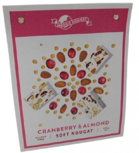 MONDO NOUGAT CRANBERRY & ALMOND GIFT BAG125G