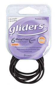 GLIDERS M/F PETITES P/T HOLDERS BRN 6PCE