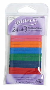 GLIDERS TUBES M/F SMALL ASSORTED 24PCE