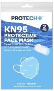 PROTECH  FACE MASK KN95 PK OF 2