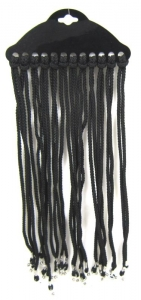 SPECTACLE CORDS BLACK CARD 12