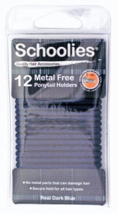 SCHOOLIES M/FREE P/HOLDER 12PCE DK BLUE