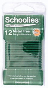 SCHOOLIES M/FREE P/T HOLDER 12PC GREEN