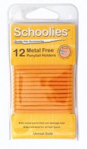 SCHOOLIES M/FREE P/T HOLDER 12PCE GOLD