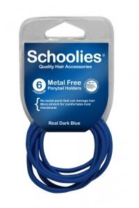 SCHOOLIES M/F P/T HOLDER 6PCE DK BLUE