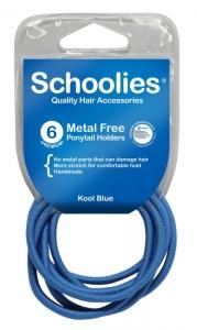 SCHOOLIES M/F P/TAIL 6PCE KOOL BLUE