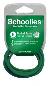 SCHOOLIES M/F P/T HOLDER 6PCE GREEN