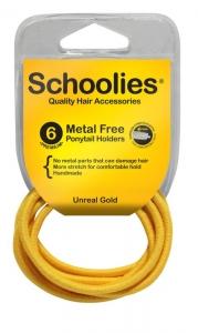 SCHOOLIES M/F P/T HOLDER 6PCE GOLD