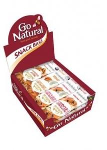 GO NATURAL MIXED BOX 40GM DISP16