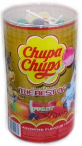 CHUPA CHUPS 100PCE TUBE