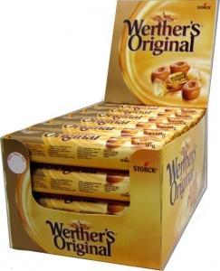 WERTHERS ORIGINAL ROLL 50G BOX 24