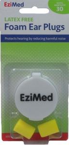EZIMED QUITE PLEASE FOAM EAR PLUGS1PR