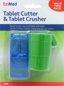 EZIMED SAFETY-SHIELD TAB CUTTER&CRUSHER