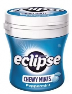 ECLIPSE CHEWY PEPPERMINT 93G DISP 6