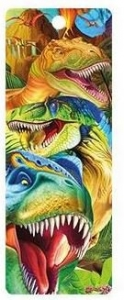 3D BOOKMARK - DINO SMILES